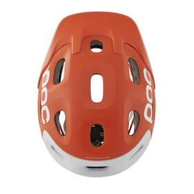 POC Trabec Race Helmet orange/white